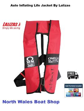 life jacket auto inflate lalizas omega