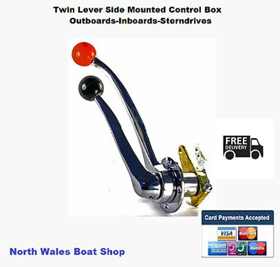 Boat Controls Outboard Engine Control Cables Control Box